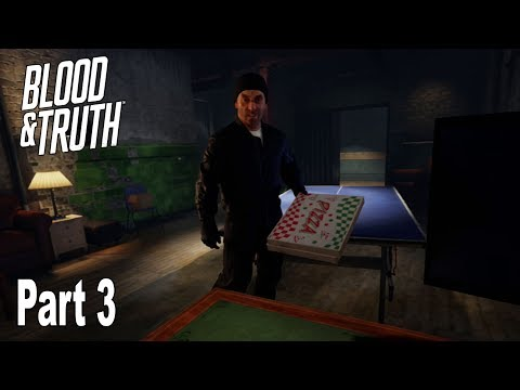 Blood & Truth - Walkthrough Part 3 No Commentary [HD 1080P]