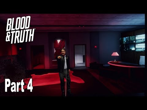 Blood & Truth - Walkthrough Part 4 Final No Commentary [HD 1080P]