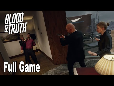 Blood & Truth - Full Game Walkthrough No Commentary [HD 1080P]