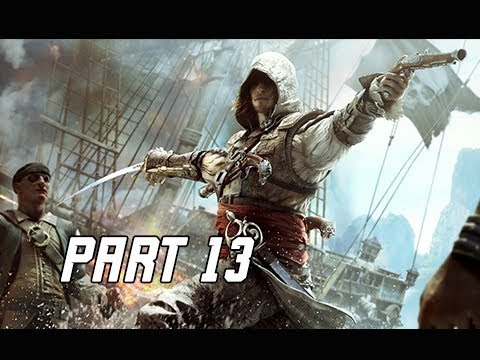 Assassin's Creed 4 Black Flag Walkthrough Part 13 - Blackbeard (PC AC4 Let's Play)