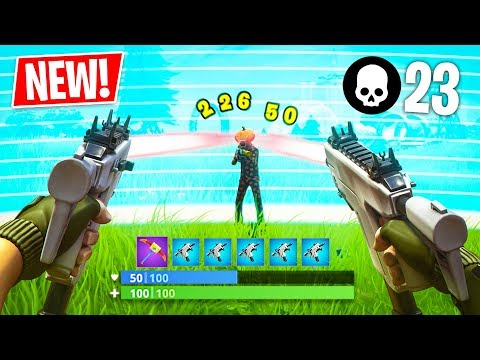*NEW* Burst SMG in Fortnite!! (Fortnite Battle Royale)