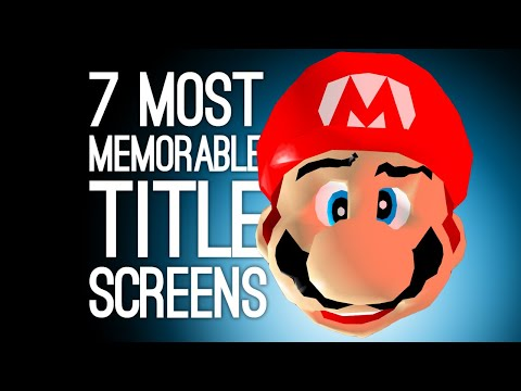 7 Best Title Screens That Went the Extra Mile