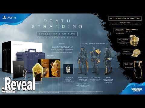 Death Stranding Collector's Edition Revealed [HD 1080P]
