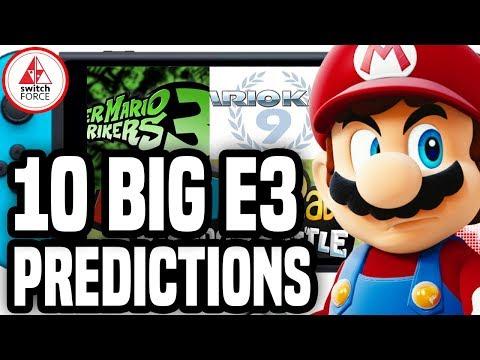 10 BIG Nintendo E3 2019 Predictions!