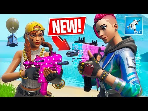 New Burst SMG Gameplay!  // Pro Fortnite Player // 2200 Wins (Fortnite Battle Royale)