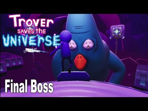 Trover Saves the Universe - Ending and Final Boss [HD 1080P]