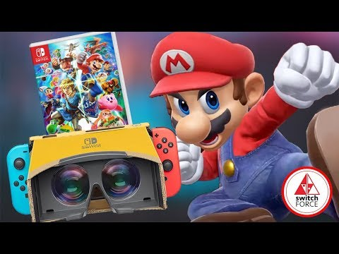 VR Support Coming To Smash Bros Ultimate + More Amiibo Support!!