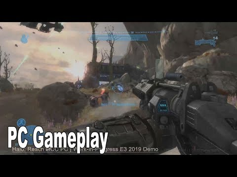 Halo: Reach - PC Demo Gameplay Reveal [HD 1080P]