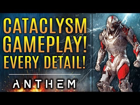 Anthem - First Cataclysm Gameplay! Every Detail: New Loot, Weapons, and Map!