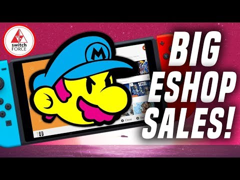 FAVORITE GAMES ON SALE! BIG Nintendo Switch eShop Game Sale!