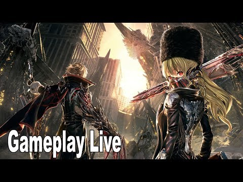 Code Vein - Network Test Gameplay [HD 1080P]