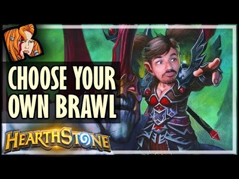 9 in 1 - CHOOSE YOUR OWN BRAWL - Rise of Shadows Hearthstone