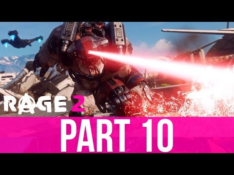 RAGE 2 Gameplay Walkthrough Part 10 - BENEATH THE SURFACE (Full Game)