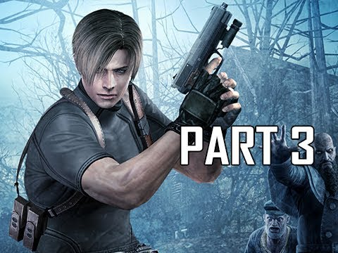 Resident Evil 4 Remastered Gameplay Walkthrough Part 3 - Boss Del Lago (RE4 Let's Play Commentary)