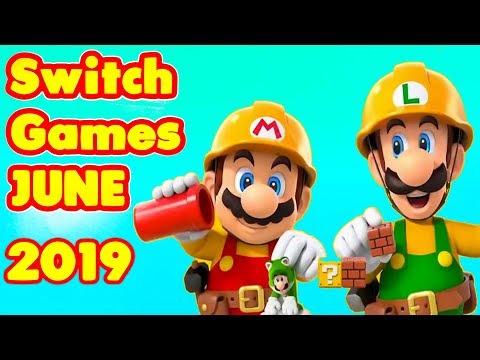 18 Nintendo Switch Games of JUNE 2019