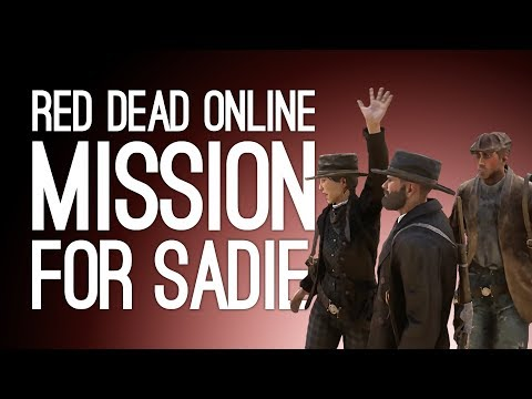 FIRST RED DEAD ONLINE MULTIPLAYER VIDEO! Red Dead Online Sadie Mission - Pt 1