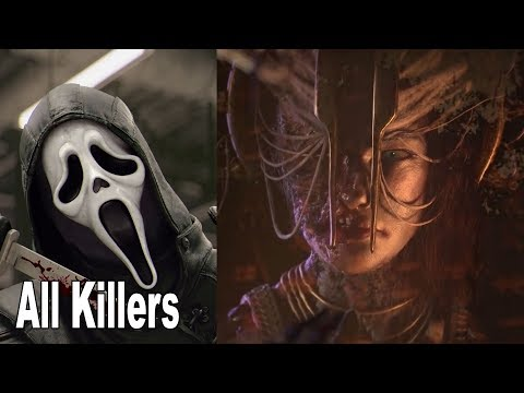Dead by Daylight - All Killers Trailers (May 2019)