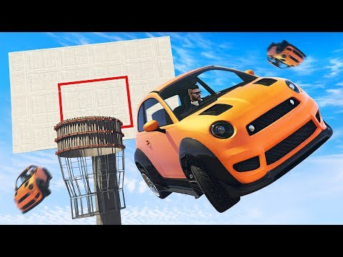 Playing BASKETBALL in GTA 5!!