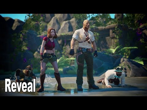 Jumanji Video Game - Reveal Trailer [HD 1080P]