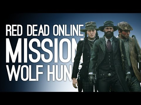 Red Dead Online Story Mission: SADIE'S WOLF HUNT! - Pt 2