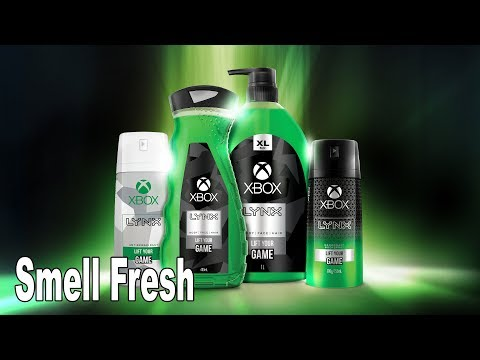 Xbox Official Deodorant, Shower Gel and Body Spray Announced [HD 1080P]