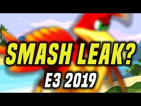 Banjo In Smash At E3 2019? BIG NINTENDO RUMOR From A Credible Source