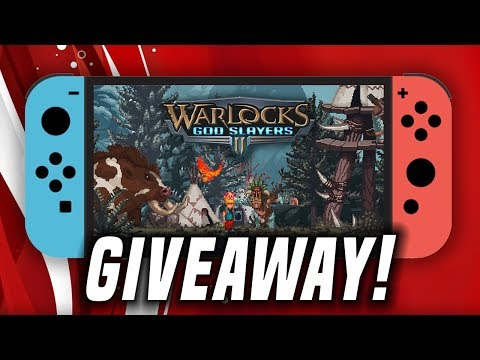 NEW Switch Game Giveaway! Warlocks 2: God Slayers Let's Play + Handheld!