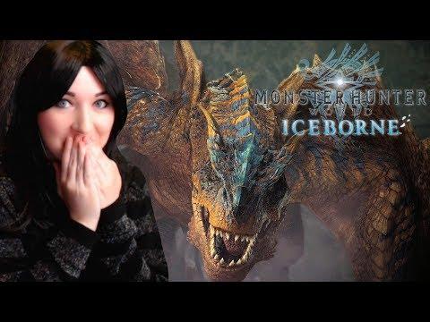 OMG Tigrex Looks AMAZING! - Monster Hunter World: Iceborne - Story Trailer REACTION VIDEO
