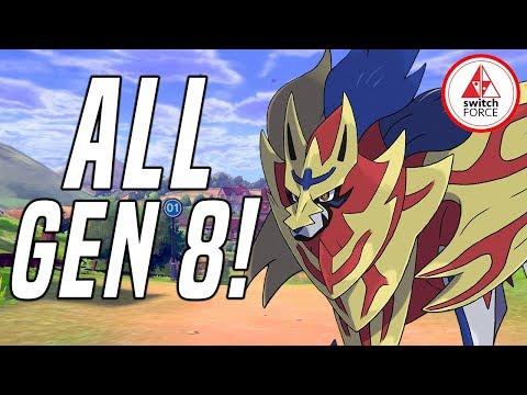 NEW INFO + DETAILS FOR ALL GEN 8 POKEMON SO FAR! Pokemon Sword New Pokemon + Legendaries