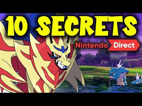 10 SECRETS of Pokemon Sword and Shield NOT Shown In The Direct!