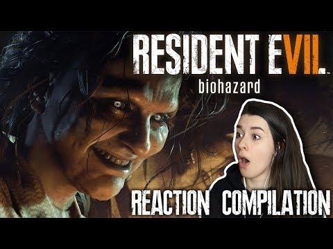 Resident Evil 7 Reaction Compilation