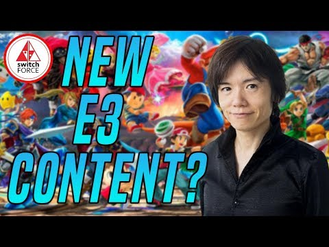 New Smash Characters At E3?! Smash Bros Ultimate: Road To E3