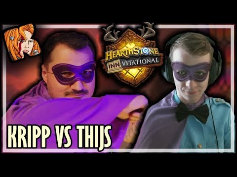 KRIPP vs THIJS & C4MLANN - Mechanical Inn-vitational - Rise of Shadows Hearthstone