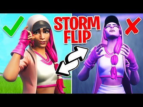 Fortnite NEW Storm Flip Item Gameplay! // Pro Fortnite Player // 2,200 Wins (Fortnite Battle Royale)