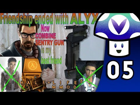 [Vinesauce] Vinny - Half-Life 2: MMod (PART 5)