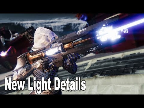 Destiny 2 - New Light More Details [HD 1080P]