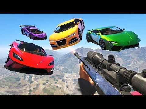 EXTREME SNIPERS vs STUNTERS!!! (GTA 5 Online)