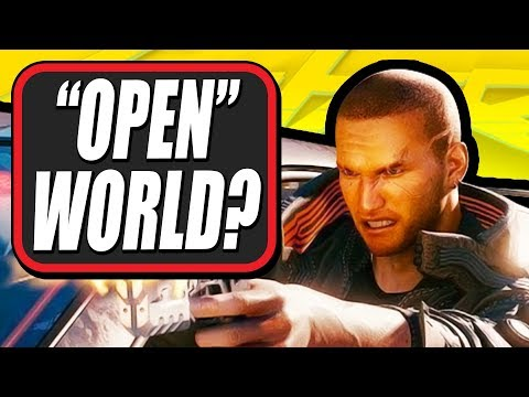 Is Cyberpunk 2077 Open World?