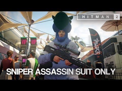 HITMAN™ 2 Master Difficulty - Sniper Assassin, Miami (Silent Assassin Suit Only)