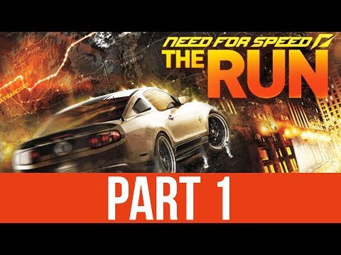 Need for Speed The Run Gameplay Walkthrough Part 1 - RACING ACROSS AMERICA