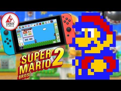 Super Mario Maker 2 NEEDS Mario Bros 2 At E3!