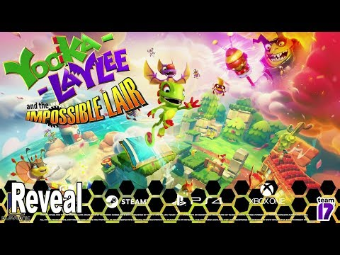 Yooka-Laylee and the Impossible Lair - Announcement Trailer [HD 1080P]