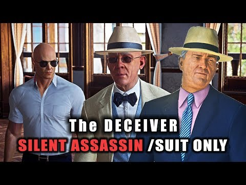 Hitman 2 The Deceivers Elusive Target Silent Assassin Suit Only