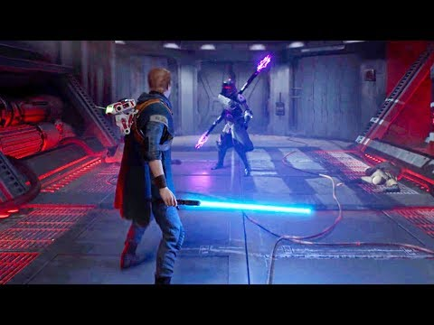 Star Wars Jedi: Fallen Order - E3 2019 Gameplay Demo (PS4 PC Xbox One)