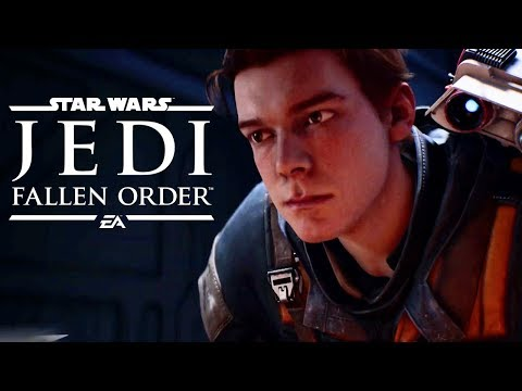 Star Wars: Jedi Fallen Order - 15 Minutes of Gameplay | EA Play E3 2019