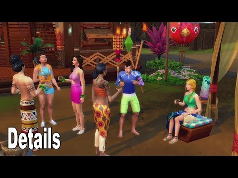 The Sims 4 Island Living - First Details E3 2019 [HD 1080P]