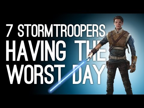 Star Wars Jedi Fallen Order: 7 Stormtroopers Having the Worst Day