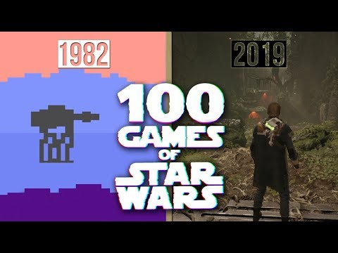 20 Seconds From Every Game of Star Wars