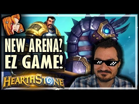 BRAND NEW ARENA? EZ GAME! - Rise of Shadows Hearthstone