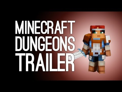 Minecraft Dungeons Gameplay Trailer: Minecraft Dungeons Reveal Trailer from E3 2019